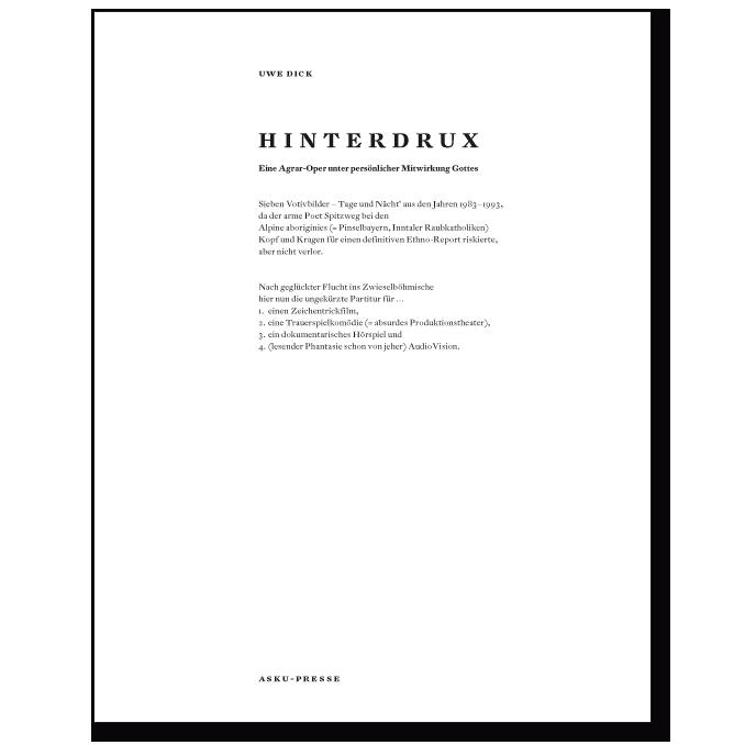 Buch von Uwe Dick Hinterdrux