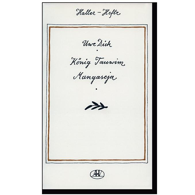 Buch von Uwe Dick König Tauwim Mangaseja