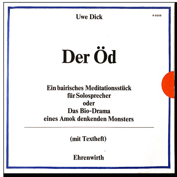Uwe Dick Der ÖD 1980 Langspielplatte